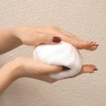 薬用ニキビ専用洗顔石鹸は弾力があり、きめ細かいモコモコ泡だよ